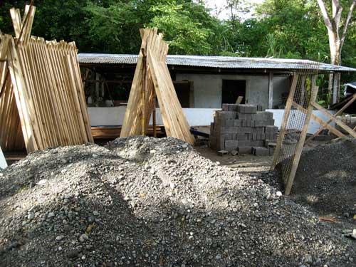 Construction at Blue Osa
