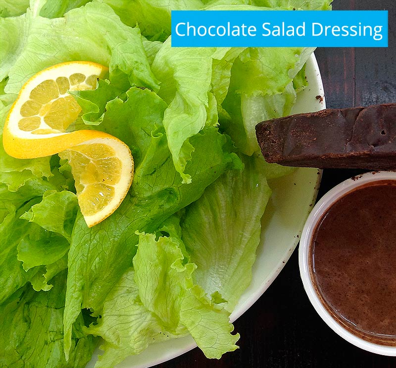 costa rica chocolate salad dressing