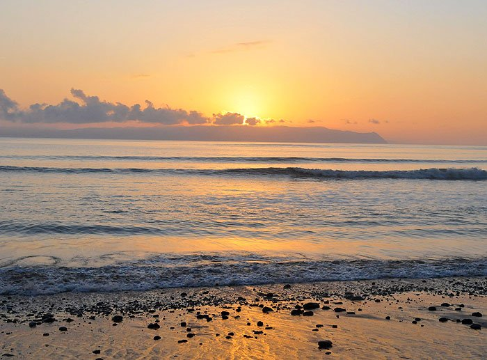 Costa Rcia Yoga Beach Sunrise