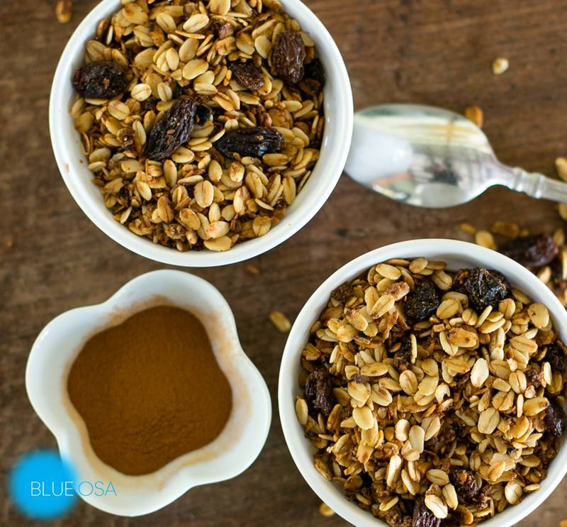 from the kitchen of Blue Osa Granola