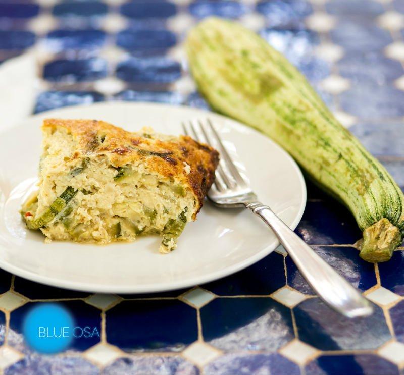 Zucchini Recipe Flan
