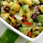 avacado mango salad from Blue Osa