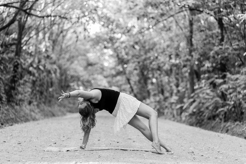 build courage || wild thing yoga pose