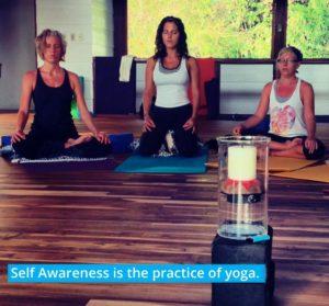 svadhyaya or self awareness is the practice of yoga