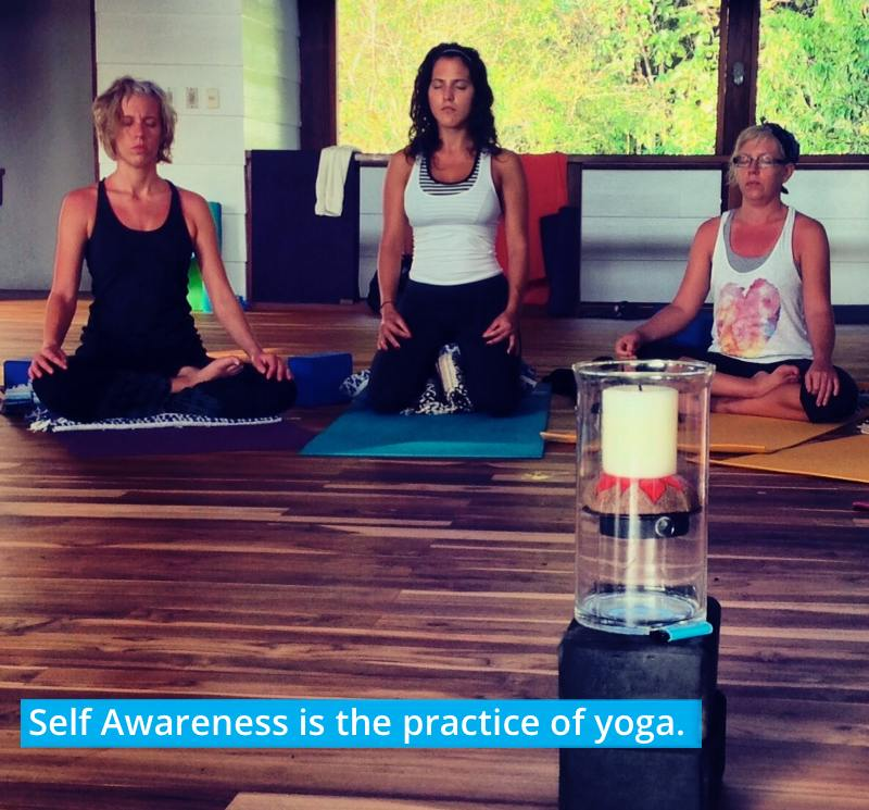 self awareness is the practice of yoga