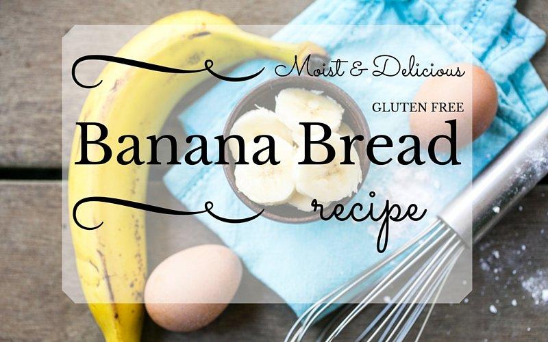 Moist and Delicious Gluten Free Banana Bread Recipe Blue Osa Blog Costa Rica Yoga