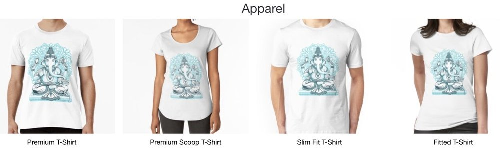 Get your Ganesh t shirt