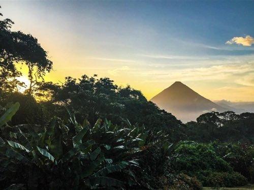 arenal costa rica || BLue Osa Travels Yoga Costa Rica