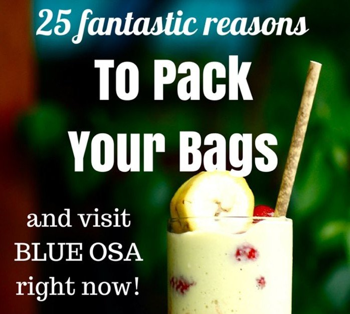 25 Fantastic Reasons To Pack Your Bags And Visit Blue Osa Right Now Drinks