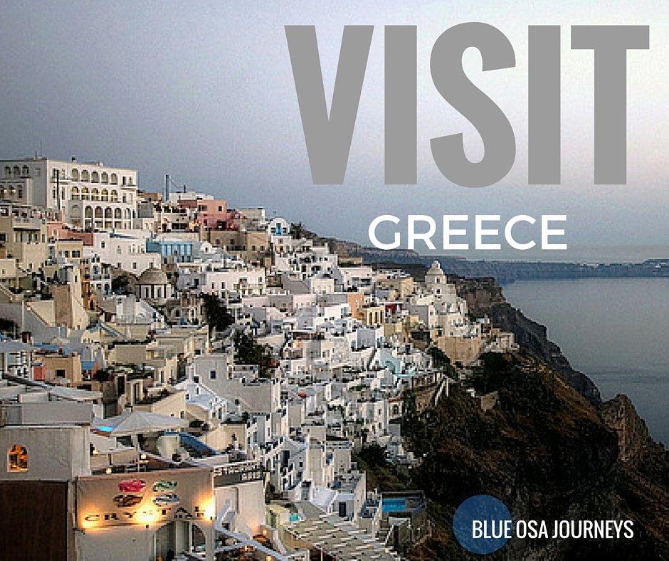 Blue Osa Journeys Visit Greece