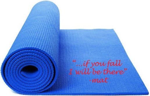 should you use your yoga mat blue osa