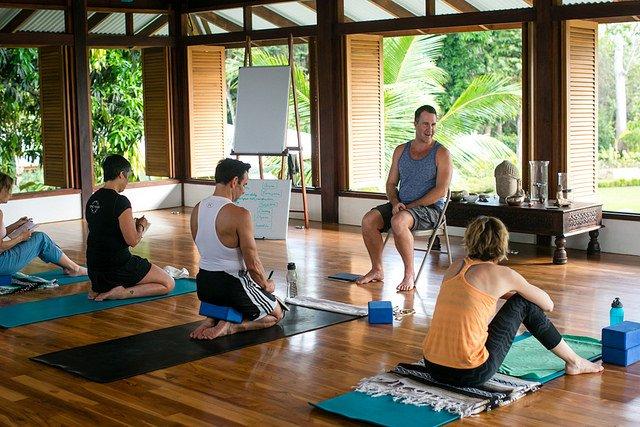 Yoga Lessons At Blue Osa