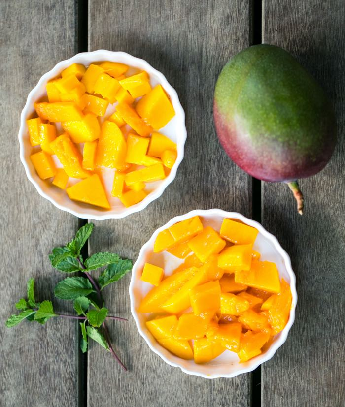 fresh mango real costa rican food