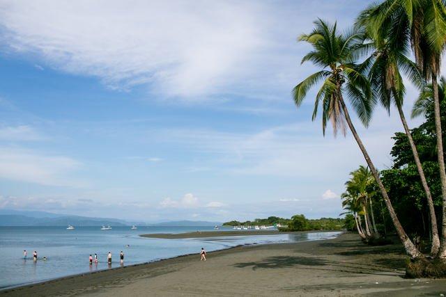 Puerto Jimenez Costa Rica beach Town