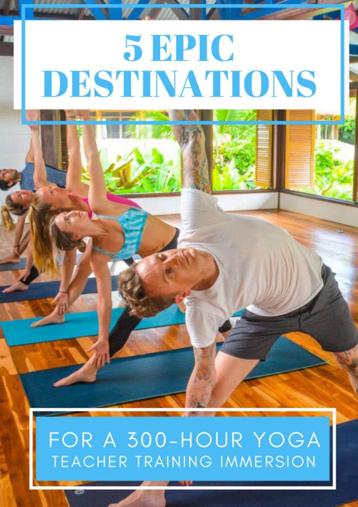 yoga teacher training immersion