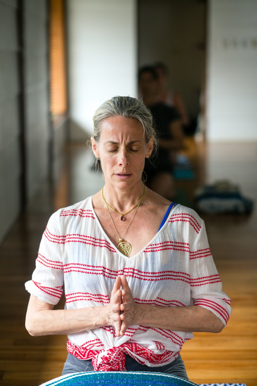 Iynegar yoga meditation retreat