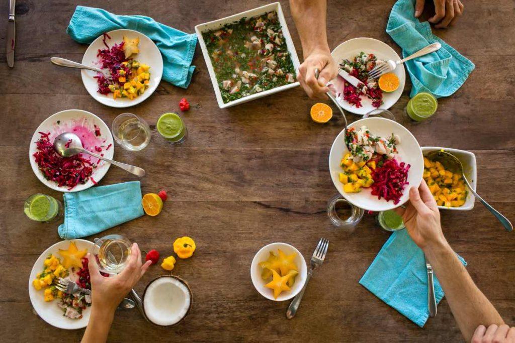 Costa Rica farm-to-table food Blue Osa Yoga Retreat