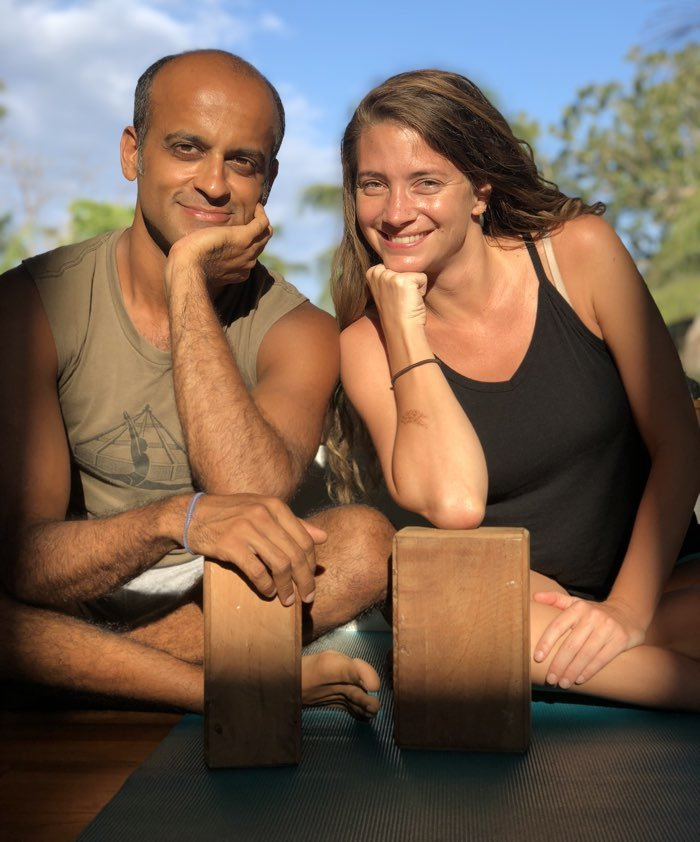 Iyengar Yoga Retreat with yogi zain and tessa