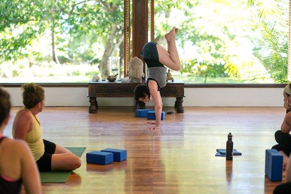 Yoga retreat leader