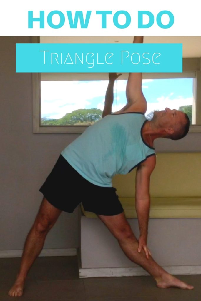 How To Do Triangle Pose Pin