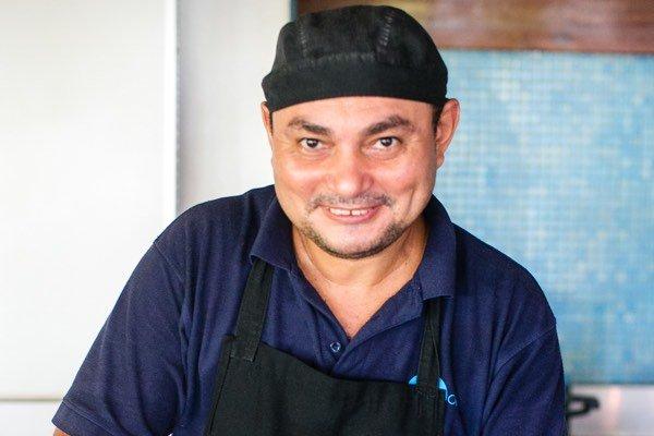 Chef Olger Blue Osa
