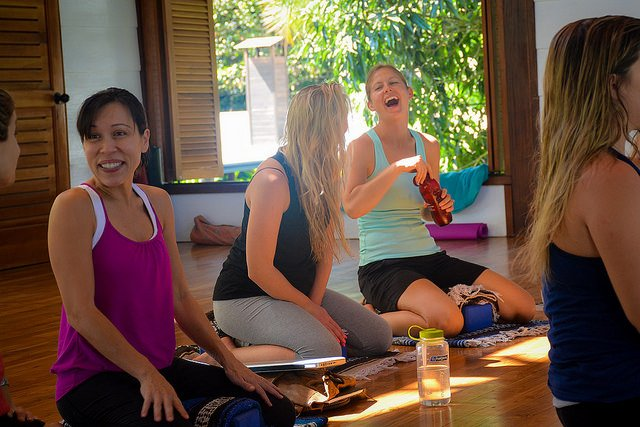 Talk To Other Yoga Teachers about How to Get a Job as a Yoga Teacher