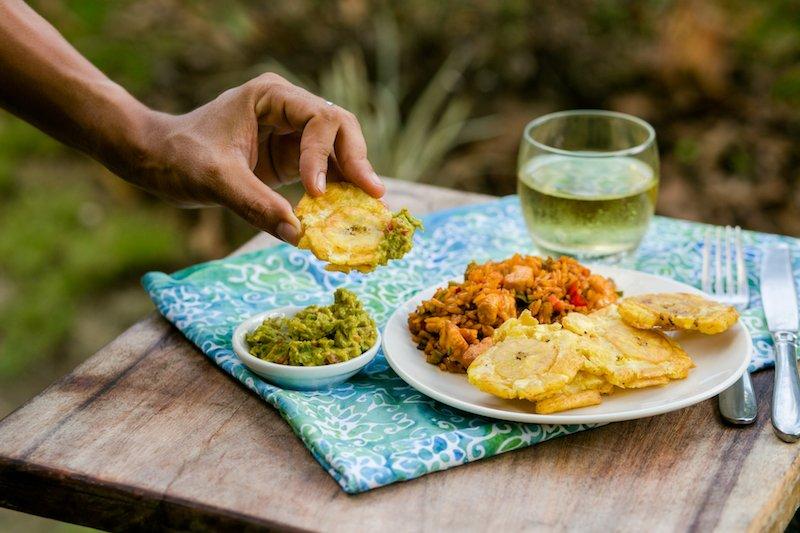 Costa Rican Cuisine Patacones