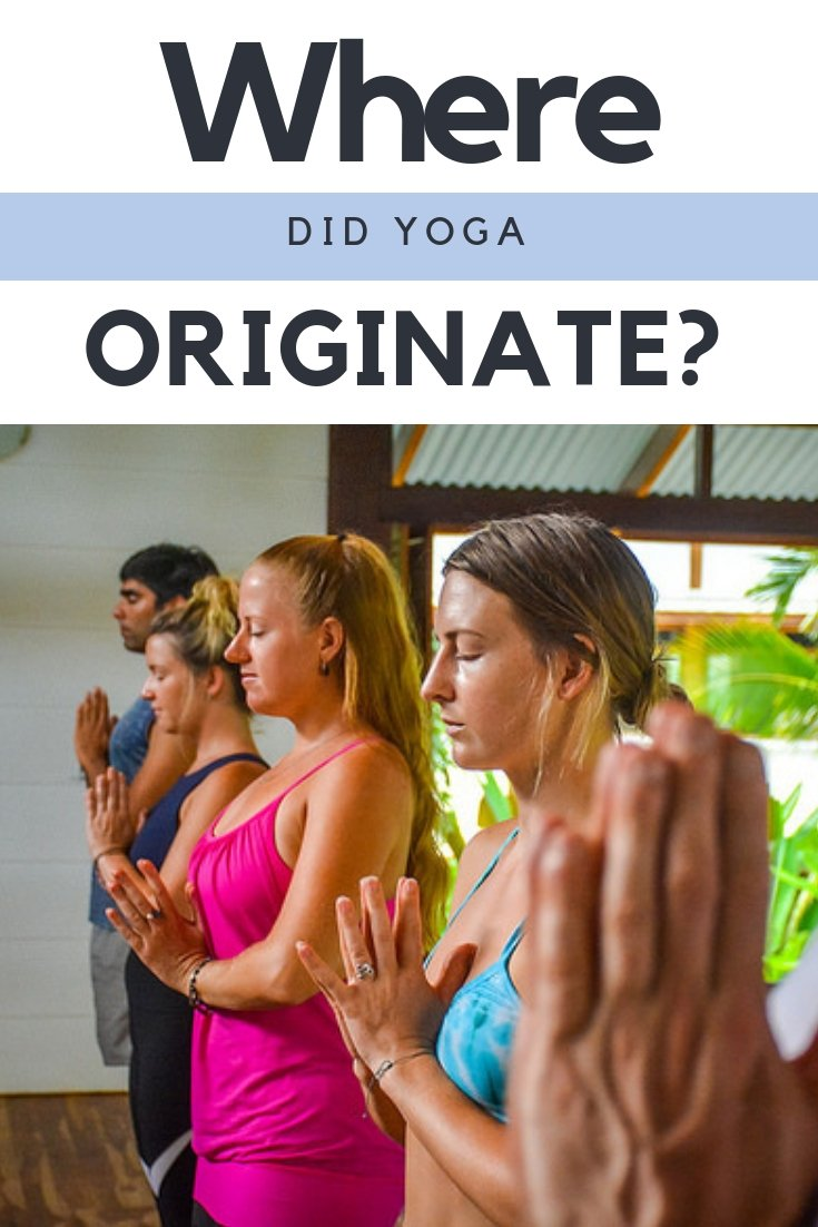 Where Did Yoga Originate Pin
