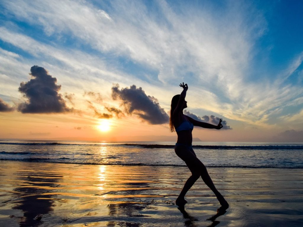 begin the day with a morning routine    raw and naked in nature    Blue Osa Yoga Retreat
