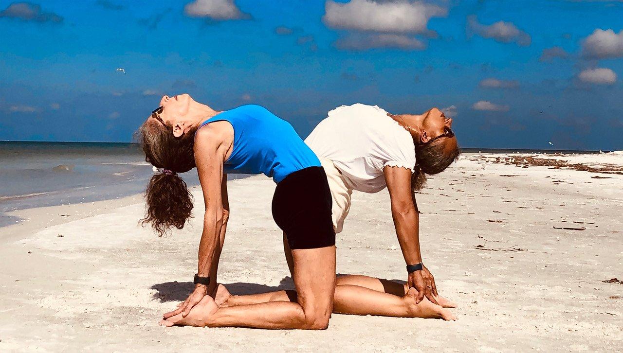 Costa Rica yoga retreat   USttrasana_Beach