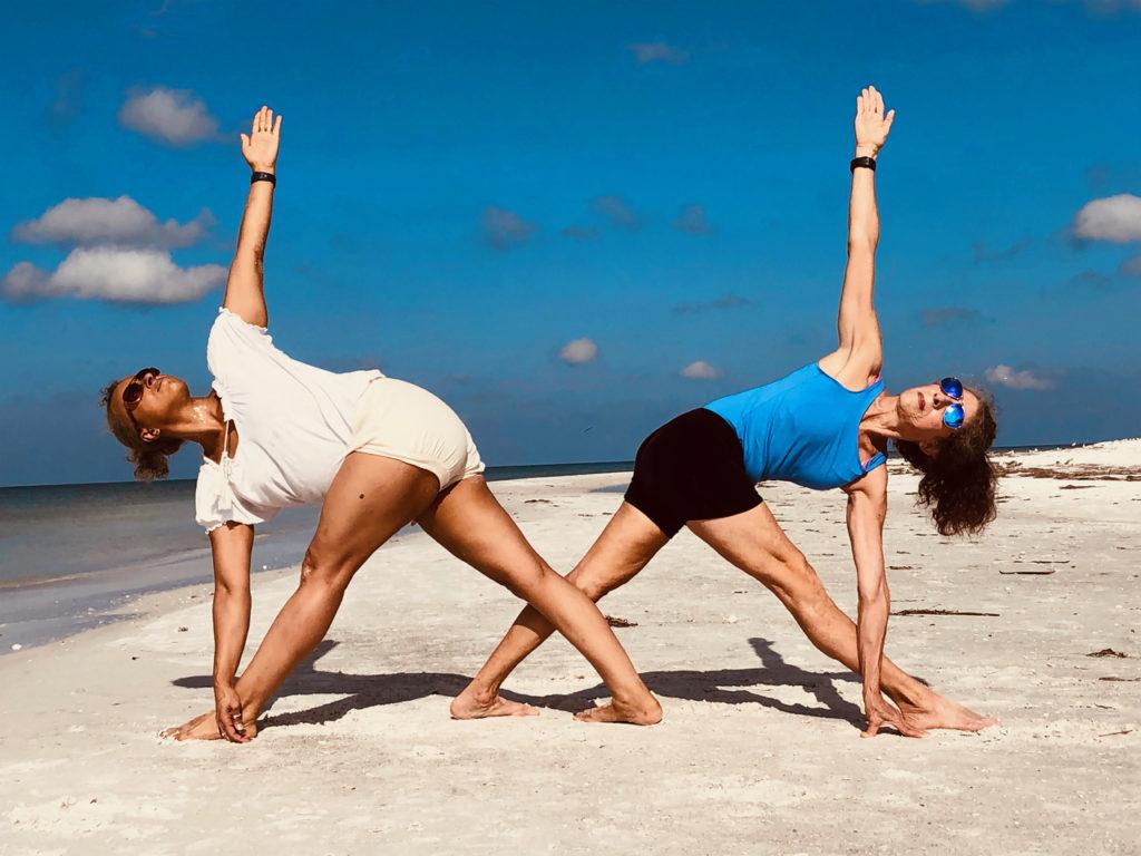 Costa Rica yoga retreat    trikonasana
