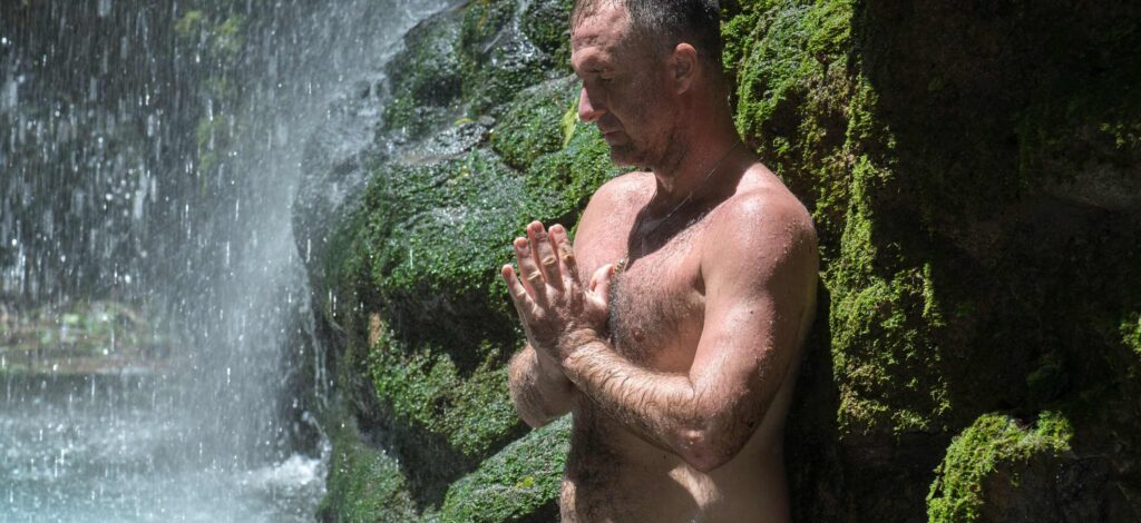 how to be raw and naked in nature