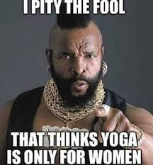 more men should practice yoga