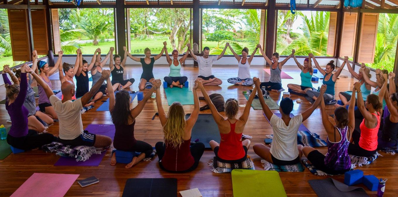 Costa Rica yoga teacher training at Blue Osa    Community and strength