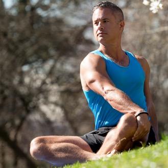 blue osa yoga teacher John Thurman