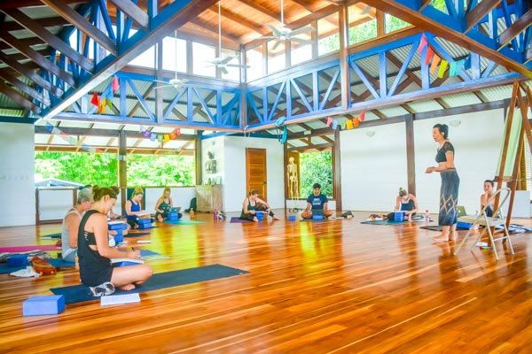 Class  During Immersion-Style Yoga Teacher Training