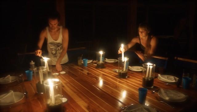 Blue Osa Earth Hour