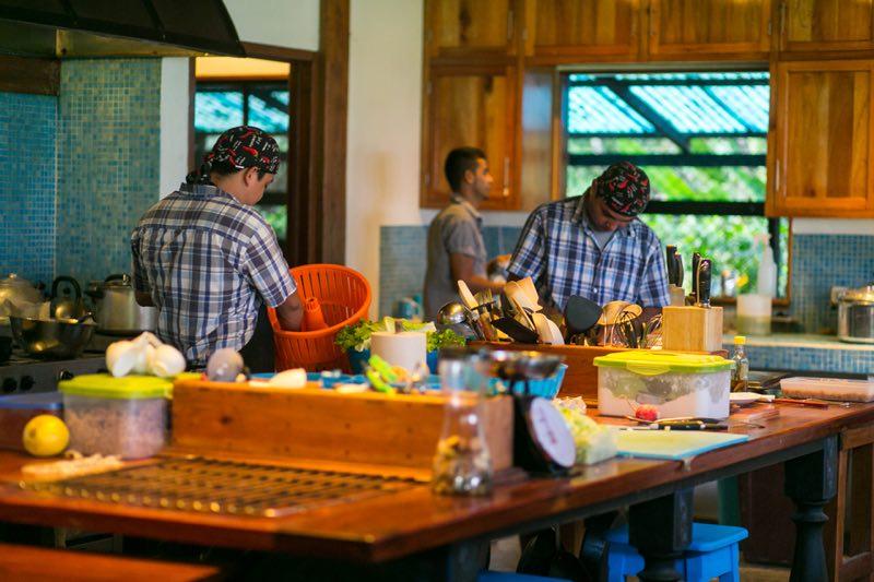 Blue Osa Kitchen