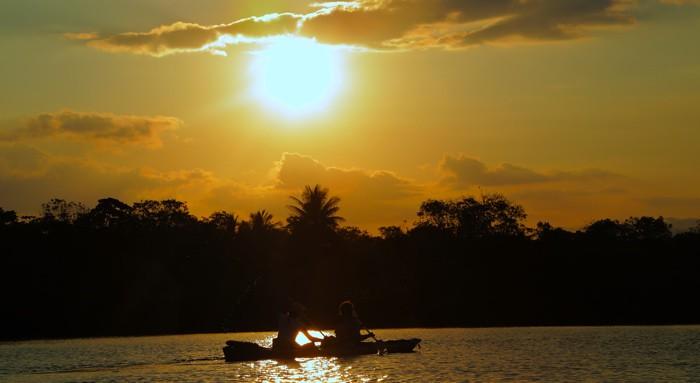 Kayaking Osa Peninsula Costa Rica