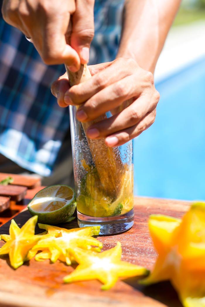 Starfruit Juice Muddle