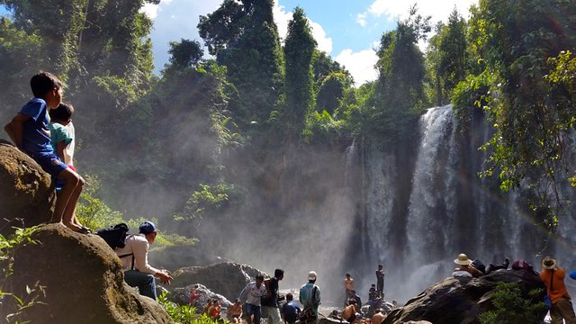 15. Hike to Kulen Waterfalls in Cambodia with Blue Osa Journeys