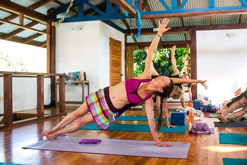 Yoga Practice Costa Rica Blue Osa