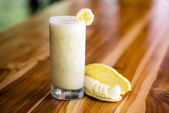 Mango Banana Cococnut Smoothie Recipe Blue Osa Yoga Costa Rica