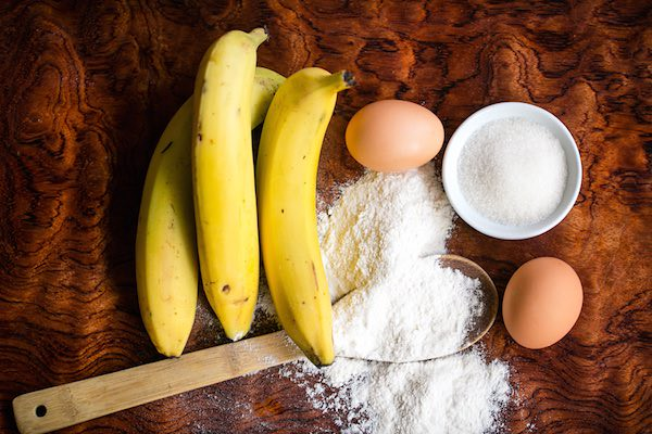 moist and delicious gluten free banana bread ingredients