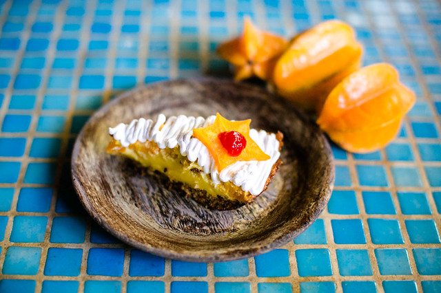 Starfruit Pie recipes from the kitchen of Blue Osa Yoga Retreat