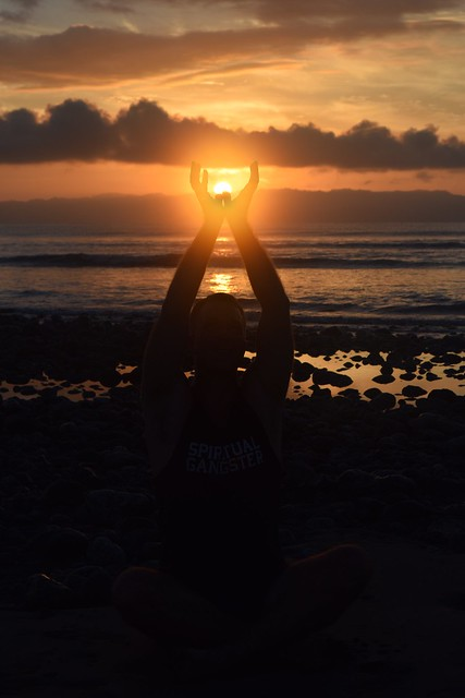 Morning Sunrise with Yogi Aaron