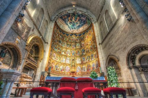Altarpiece – Retablo, Catedral Vieja, Salamanca (Spain), HDR 2