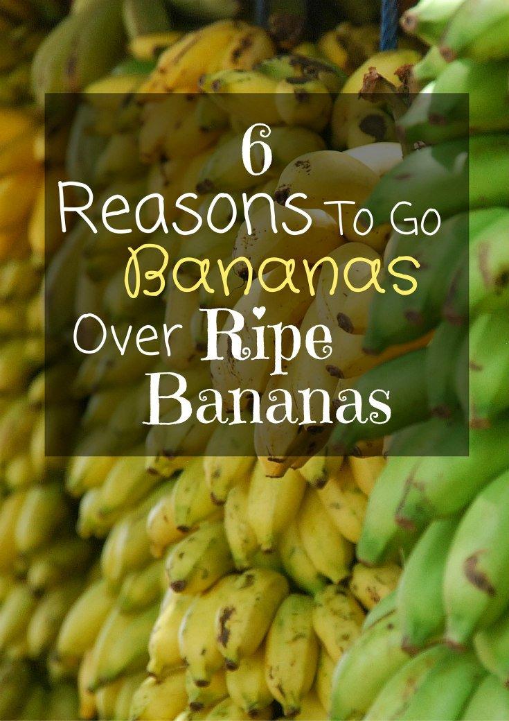 6 Reasons Bananas Over Ripe Bananas