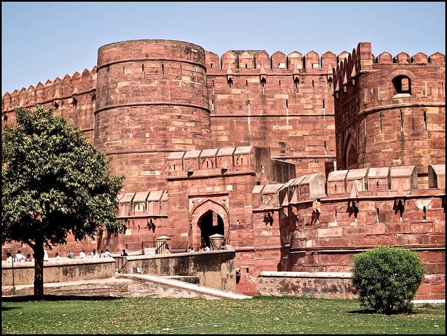 The Red Fort of the Mughal Emperors