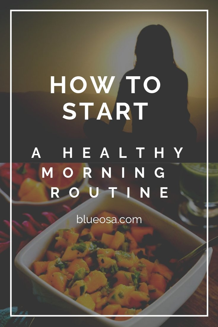 healty morning routine